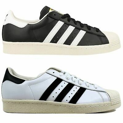 adidas Superstar 80's Mens Trainers-Originals~RRP £69.99