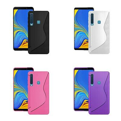 Case For Samsung Galaxy A9 2018 S-Line Silicone Gel Skin Shockproof Phone Cover