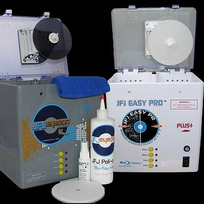 Jfj Eyecon + Jfj Easy Pro Disc Repair Machines Uk Plug