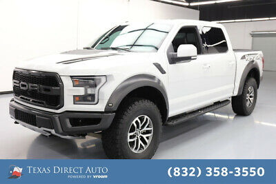 2018 Ford F-150 Raptor Texas Direct Auto 2018 Raptor Used Turbo 3.5L V6 24V Automatic 4WD Pickup Truck