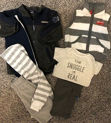 Baby Boy Lot 3-6 Month. Osh Kosh And Carters