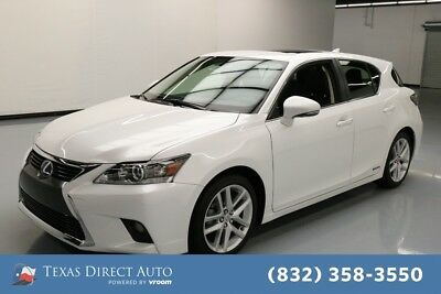 2017 Lexus CT 200h  Texas Direct Auto 2017 Used 1.8L I4 16V Automatic FWD Hatchback