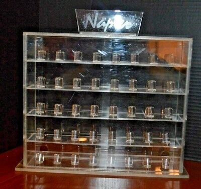 Plexiglass Thimble Display Case