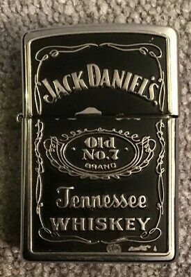 JACK DANIELS OLD No 7 TENNESSEE WHISKEY ZIPPO LIGHTER BRADFORD PA MADE IN USA