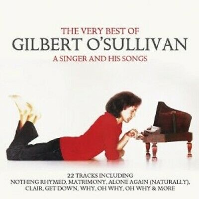 Gilbert O'sullivan - Very Best Of-A Singer And His Songs  Cd New