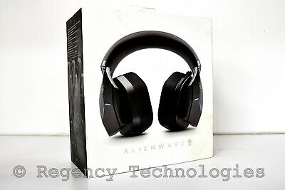 Alienware  Wireless Wired Stereo Gaming Headset   Black   New Damaged Box
