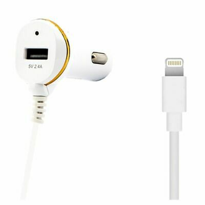 Caricabatterie per Auto Ref. 138215 USB Cable Lightning Bianco