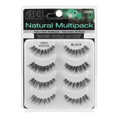 Ardell NATURAL MULTIPACK DEMI WISPIES False Eyelashes  Lashes 240494 4 pair