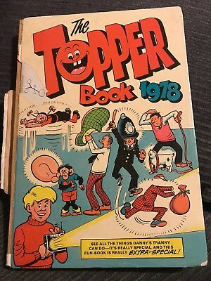 The Topper Book 1978 - vintage annual - unclipped