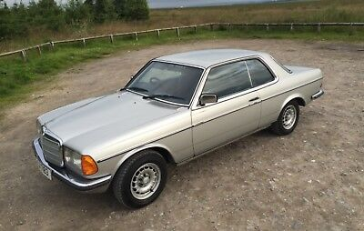 Classic Mercedes W123 C123 280ce Automatic Coupe - WSF 563Y (not W124, not W112)