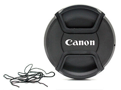 LC-72  Centre Pinch Front Lens Cap for canon 72mm filter thread Snap-on UK STOCK