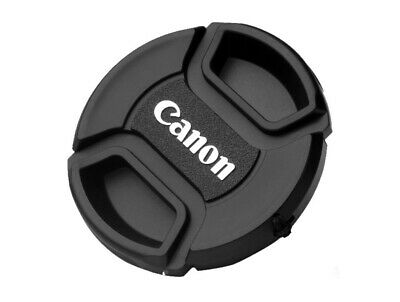 LC-55  Centre Pinch Front Lens Cap for canon 55mm filter thread Snap-on UK STOCK