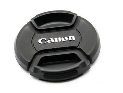 LC-52 Centre Pinch Front Lens Cap for canon  52mm filter thread Snap-on UK STOCK