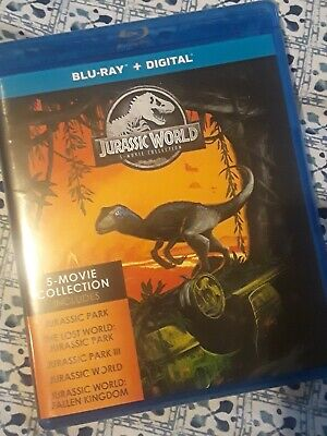 Jurassic World Park - 5 Movie Collection Blu-Ray SET/ NO Digital NEW NOT SEALED