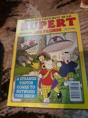 Rupert And Friends Comic Issue No 35 Marvel 6th March 1993