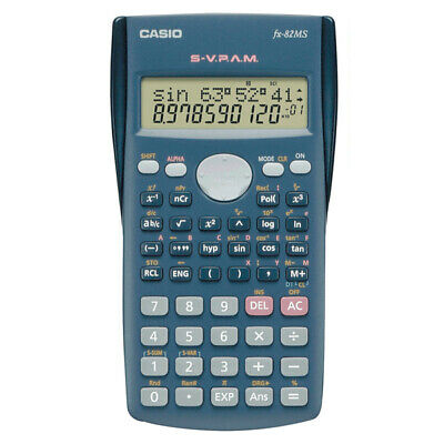 Calculadora Casio FX-82MS Negro