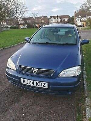 Vauxhall Astra 2004 Club Auto 1.6I Metallic Blue 5dr Petrol / Automatic For Sale