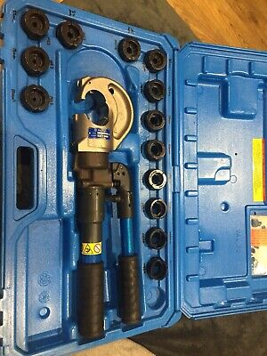 Cembre HT131-C, two speed, hand hydraulic crimper, crimping tool