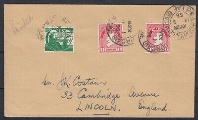 Ireland 1958 Dublin and Cork TPO sent at printed paper rate
