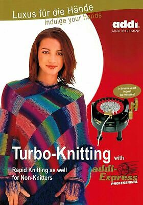 Knitting with addi-Express Professional - addi Pattern Book