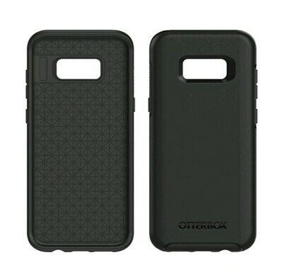 OtterBox Symmetry Samsung Galaxy S8 Shockproof Hard Shell Case Snap Cover Black