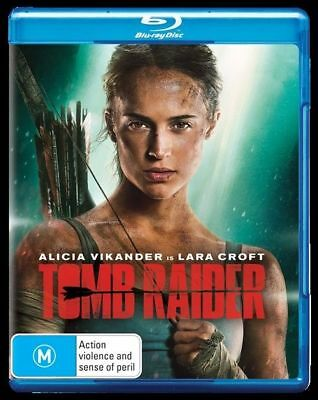 Tomb Raider (Blu-ray, 2018) NEW