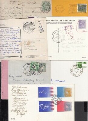Ireland selection of 15 covers inc censor, TPO, postage due,12p FDC etc