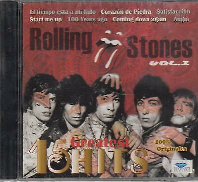 Rolling Stones Vol. 1 15 Greatest Hits CD New Sealed Nuevo