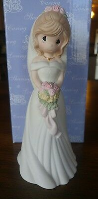 Precious Moments I Found My Love In You 630027 Porcelain Figure Bride 2006