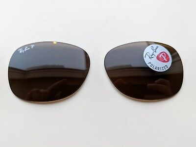 265c67e8fe Polarized Brown B-15 Replacement Lenses Ray Ban RB2132 New Wayfarer 55mm