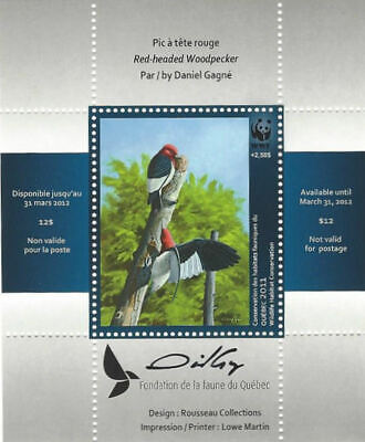 2011 Canada Quebec  Wildlife Habitat Conservation  WWF -DQ67s    Mint NH