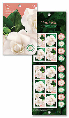 2019- Gardenia: Permanent Domestic stamps - Booklet of 10 MNH