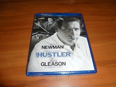 The Hustler (Blu-ray Disc, Widescreen 2011) Paul Newman, Jackie Gleason NEW
