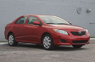2010 Toyota Corolla LE 1 OWNER LOW MILES 14 SERVICE RECORDS FLORIDA VEHICLE NON SMOKER