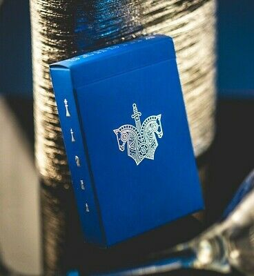 Bicycle Ellusionis Blue Knights Deck US Playing Cards Poker Magic New