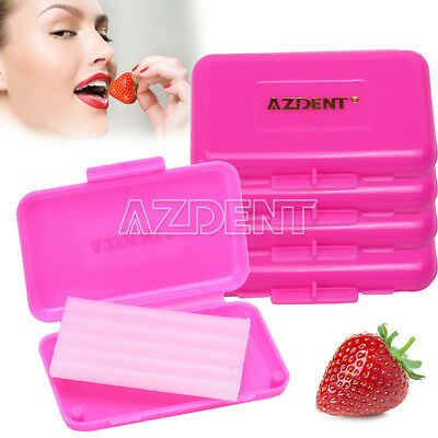 50X Dental Orthodontic Wax Strawberry Scent Azdent