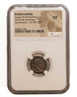 Constantine the Great, Ancient Roman Coin, NGC (F)
