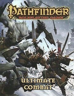 Pathfinder Roleplaying Game Ultimate Combat - NEW - 9781640780514 by Bulmahn, Ja