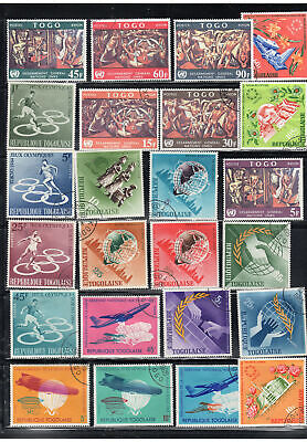 Togo  Africa Stamps   Used  Lot  39138