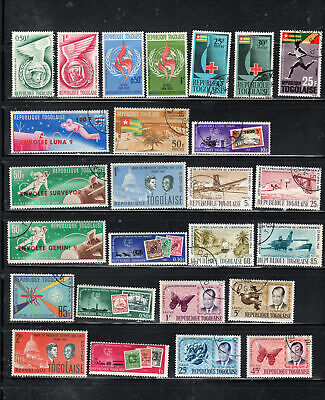 Togo  Africa Stamps   Used  Lot  39139