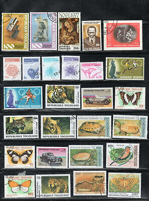 Togo  Africa Stamps   Used  Lot  39144