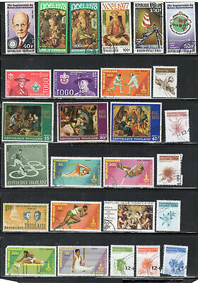 Togo  Africa Stamps   Used  Lot  39145
