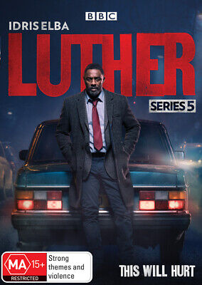 Luther : Series 5 (DVD, 2019, 2-Disc Set) R4