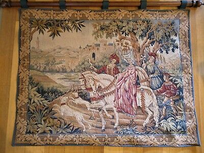 The Royal Hunt Tapestry by Marc Waymel created exclusively for the Franklin Mint