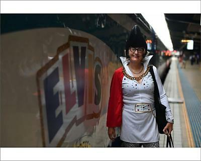 """10""""x8"""" (25x20cm) Print of ELVIS EXPRESS DEPARTURE 2019 from"""