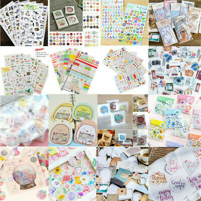 DIY Craft Calendar Scrapbook Album Diary Book Decor Planner Paper Stickers Hot