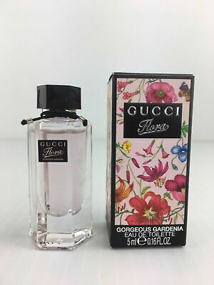 Miniature de Parfum GUCCI FLORA GORGEOUS GARDENIA EDT 5ml.