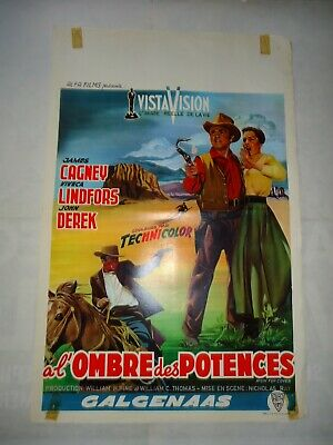 WESTERN/JAMES CAGNEY/RUN FOR COVER/ F14F/ affiche belge