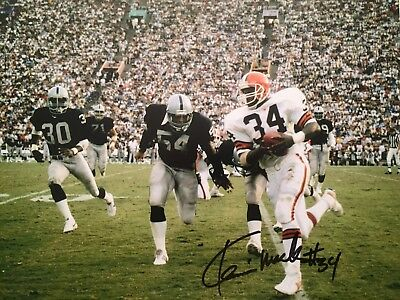 BAKER MAYFIELD CLEVELAND Browns Autographed 11 X 14 Photo with COA ... ff37f139a