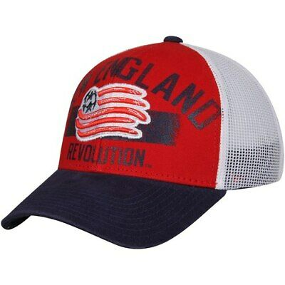 8890402b9ad75 NEW ENGLAND REVOLUTION adidas White/Navy Authentic Team Slouch ...